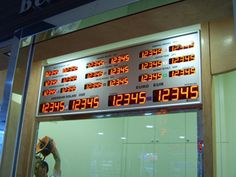 Reksan Reklam Elektronik - Döviz Kur Panoları - Fiyat Panoları