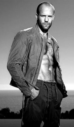 Jason Statham - because I reflexively made a yummy sound when I saw this.