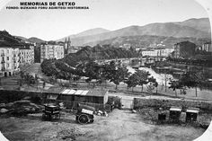 Bilbao, picture taken from where the city hall stands today, that's to say before Bilbao, Old Pictures, Old Photos, Basque Country, Barbados, Paris Skyline, Dolores Park, Spain, France