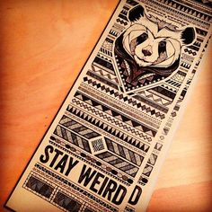 Andreas Preis Illustration // #panda #stayweird