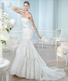 """Wedding dress """"Rivoli""""  St. Patrick . Available in Ivory Color, Size 10  Now on Special. tel +27(0) 215564880"""