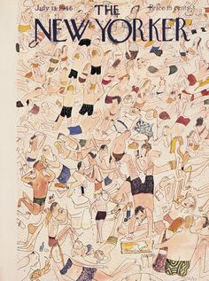 The New Yorker - Saturday, July 13, 1946 - Issue # 1117 - Vol. 22 - N° 22 - Cover by : Ludwig Bemelmans
