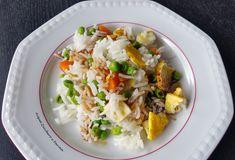 Riso alla cantonese vegetariano bimby