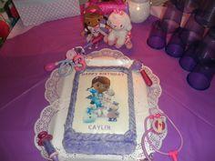 Doc McStuffins Birthday cake