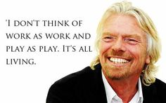 Top 30 inspirational quotes from Richard Branson. From high school dropout to multi-billionaire, Richard Branson has an incredible history and many inspirational quotes on entrepreneurialism Business Motivation, Business Quotes, Motivation Success, Business Leaders, Business Sales, Entrepreneur Motivation, Entrepreneur Quotes, Success Quotes, Online Business