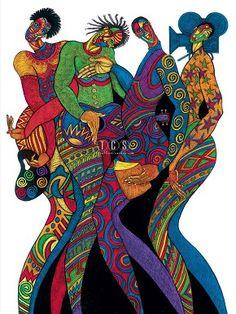Charles Bibbs In Living Color Giclee