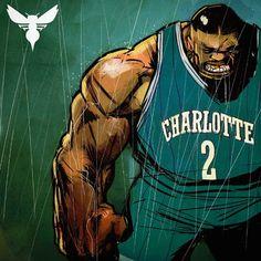 Larry Johnson 'LJ Beast' Illustration