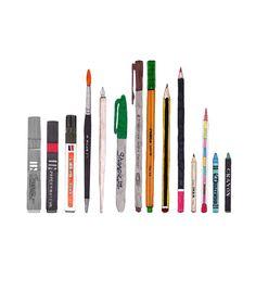 My drawing tools by Roman Romeral. Me encanta!