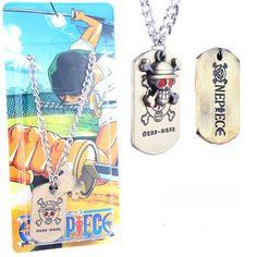 One Piece Zoro Necklace OPNL8992