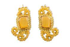 Loredana Mandas Boucles d'oreilles en filigrane or 18 ct Gaudi