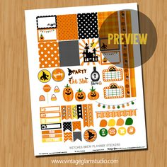 "Hello peeps.   Okay, now didn't this month seem to fly by  fast? We are in the last week of September and guess what's around the corner?    Why, October, of course, with it's fun filled holiday ""Halloween"".   Today,  I am releasing a planner stickers sampler set with a mixture of fall and Halloween designs.   … Continue reading Witches Brew Planner Stickers – Free Printable →"