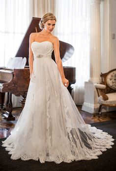 Find your dream wedding dress with Christina Rossi. Our bridal collection carries off-the-shoulder and long sleeves, detachable skirts, and floral designs Wedding Dress Gallery, Wedding Dresses 2014, Wedding Dress Styles, Wedding Gowns, Kylie, Shops, Fairytale Dress, Bridal Collection, New Dress
