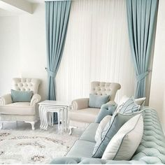 Living room curtains are against you with 32 models with friendly design. We meet with you with our favorite part of our home decor. Sofa Design, Interior Design, Living Room Designs, Living Room Decor, Bedroom Decor, Home Decor Furniture, Diy Home Decor, Muebles Shabby Chic, Luxury Living