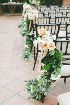 Photographer: Onelove Photography; Lovely elegant outdoor wedding ceremony idea