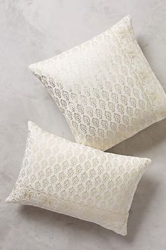 Arbor Floret Pillow - anthropologie.com 100% in love with these for the bed