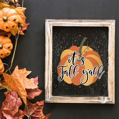 Who's ready for Fall? 🎃🍁 Find new Autumn collection with lettering in my shop ♡