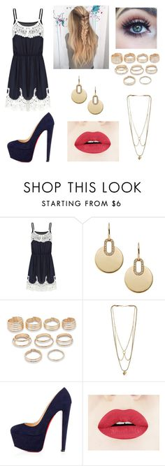 """Untitled #895"" by duda-melo ❤ liked on Polyvore featuring Michael Kors, Power of Makeup, Forever 21, MANIAMANIA, Christian Louboutin, women's clothing, women, female, woman and misses"