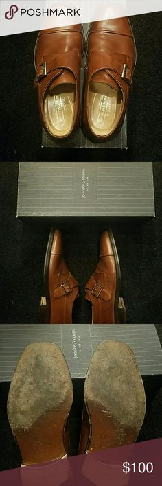 Johnston & Murphy Italian leather loafers PRICE REDUCTION!!!!!!!! Mens Johnston & Murphy  Italian leather loafers in great condition. Only mark on them is the bottom front of the sole as shown in the picture. Worn a handful of times. Comes with the box as well. Johnston & Murphy Shoes