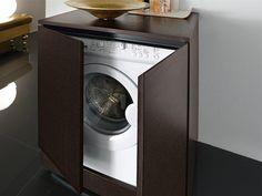 Cover up your washing machine - Amazing washing machine cabinets