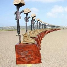 keys-asshole:  Memorial for the fallen of the 3/5 at Camp...