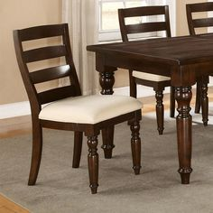 Loon Peak Baddeck Side Chair (Set of 8 Seater Dining Table, Dining Chairs, Riverside Furniture, Dining Furniture, Door Design, Side Chairs, Cool Kitchens, Room, House