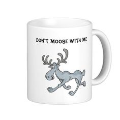 Comical Moose Mug