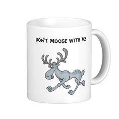 Comical Moose Mug