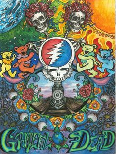 Choose your favorite grateful dead drawings from millions of available designs. All grateful dead drawings ship within 48 hours and include a money-back guarantee. Grateful Dead Tattoo, Grateful Dead Image, Grateful Dead Poster, Grateful Dead Bears, Grateful Dead Album Covers, Grateful Dead Quotes, Rock Posters, Band Posters, Music Posters