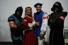 Carrascos, Principe e Princesa.
