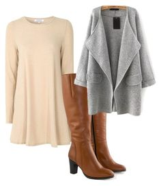 """Untitled #2805"" by charlieemily2013 ❤ liked on Polyvore featuring Glamorous and Jilsen Quality Boots"