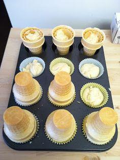 Goddess of Baking: Ice Cream Cone Cupcakes