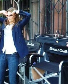 I love Stana Katic....cute and gorgeous at the same time