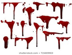 collection various blood or paint splatters,Halloween concept,ink splatter background, isolated on white. Digital Painting Tutorials, Digital Art Tutorial, Art Tutorials, Manga Halloween, Happy Halloween, Art Sketches, Art Drawings, Drawing Blood, Blood Art