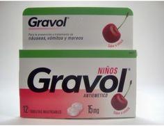 GRAVOL 15 MG X 12 TABLETAS