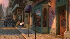 Animation Backgrounds: PRINCESS AND THE FROG
