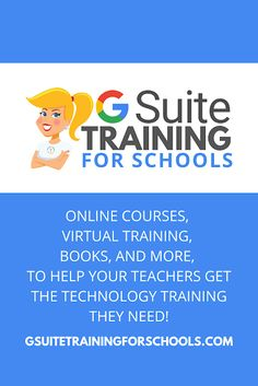 G Suite Training for Schools | Ready To Take Your School to the NEXT LEVEL? Get your entire campus or district on board with G Suite! Help your teachers learn more about G Suite tools, Google Classroom, and meaningful technology integration strategies. You can even help all your teachers become Google Certified Educators! #google | shakeuplearning.com Free Teaching Resources, Teacher Resources, Classroom Resources, Google Training, Google Teacher, Formative Assessment Tools, Library Activities, Learning Courses, Technology Integration