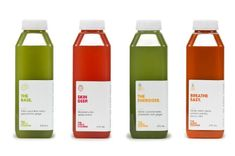 The Juice Cleanse Brand Identity | Trendland
