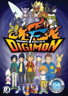 Digimon Season 4: Digimon Frontier DVD Complete Collection (D)