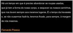 falAÇÃO: POESIA - FERNANDO PESSOA