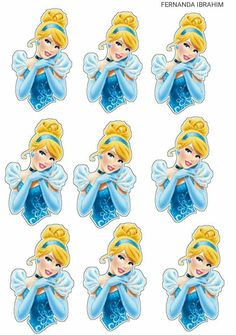 Cinderela Drawing Tips drawing poses Cinderella Party Decorations, Cinderella Cupcakes, Princess Cupcake Toppers, Disney Cupcakes, Cinderella Theme, Cinderella Birthday, Princess Cupcakes, Princess Tiara, Cinderella Cartoon