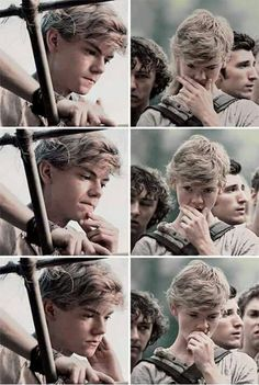 Newt | Thomas Brodie-Sangster | The Maze Runner