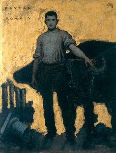 Xavier Mellery : Paysan romain