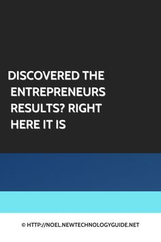 Entrepreneurship - Choosing The Right Tactic