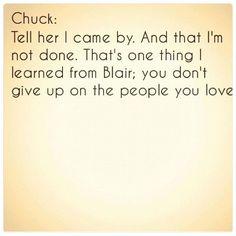 gossip girl. Chuck and blair