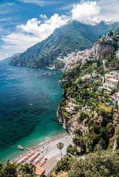 Positano, Amalfi Coast, Italy A little piece of heaven...won't be long...