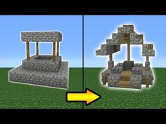 Minecraft Tutorial: How To Transform a Village Well - YouTube