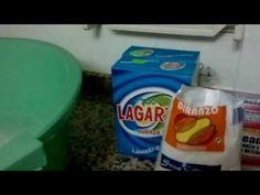 Como hacer jabón casero en polvo Parte 1/6 - YouTube