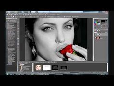 Paint Shop Pro: Black and white picture with Color