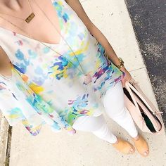 IG @alina2189- Anthropologie top, white denim and peep toe booties... @liketoknow.it www.liketk.it/1yxI2 #liketkit