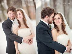 winter wedding photography  www.cassidydawn.com